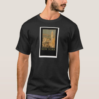 Vintage New York from Glasgow by the Anchor Line T-Shirt