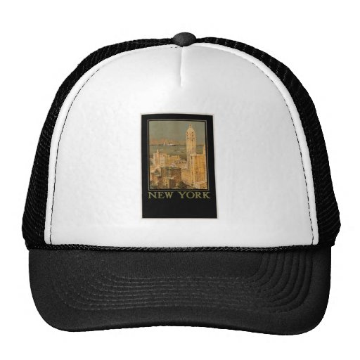 Vintage New York from Glasgow by the Anchor Line Trucker Hat