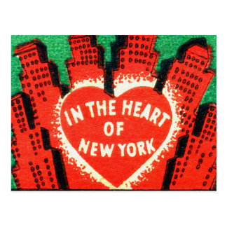 Vintage New York Hotel Dixie Matchbook Art Cover Postcard