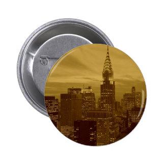 Vintage New York Manhattan Button