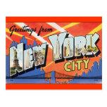 Vintage New York Post Card