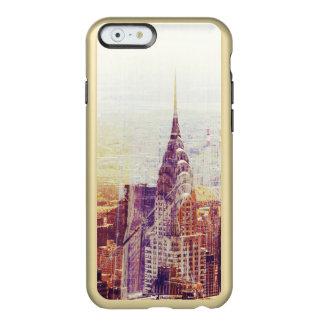 Vintage New York skyline Incipio Feather® Shine iPhone 6 Case