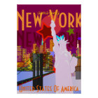 Vintage New York Travel Poster