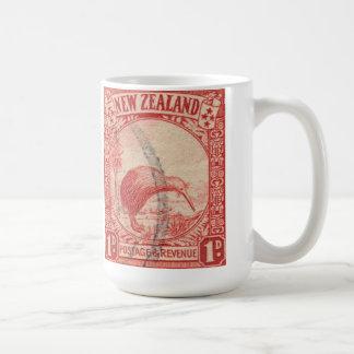 Vintage New Zeland Bird Coffee Mug