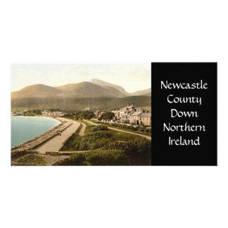 Vintage Newcastle, condado abajo Tarjetas Fotográficas
