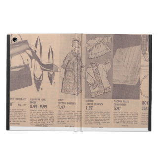 Vintage Newspaper Ads iPad Air Case