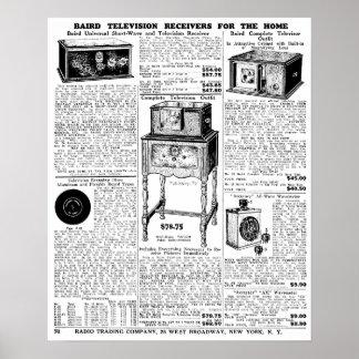 Vintage Newspaper Advert 1932 Poster