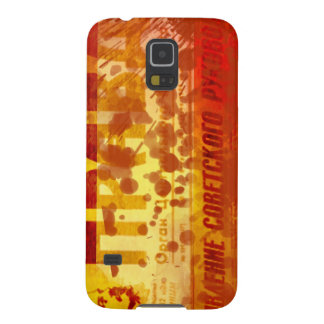 vintage newspaper background galaxy s5 cover