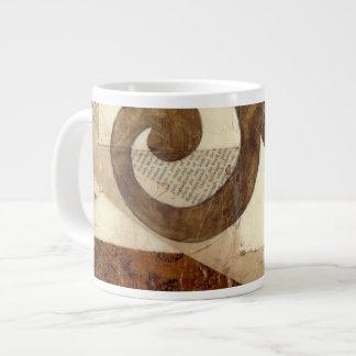 Vintage Newspaper Clipping Giant Coffee Mug