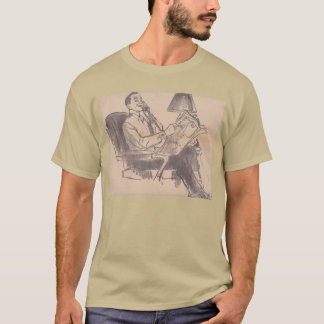 Vintage Newspaper Dad T-Shirt