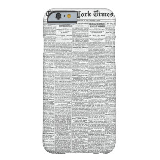 Vintage Newspaper iPhone 6/6s Case | Customisable