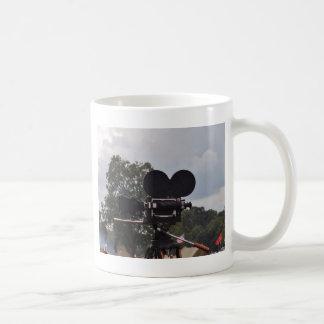 Vintage Newsreel Camera Coffee Mug