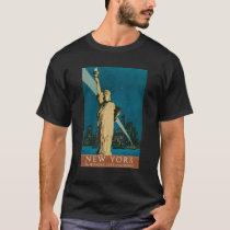 Vintage NewYork Travel Poster Shirt