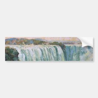 Vintage Niagara Falls Etiqueta De Parachoque