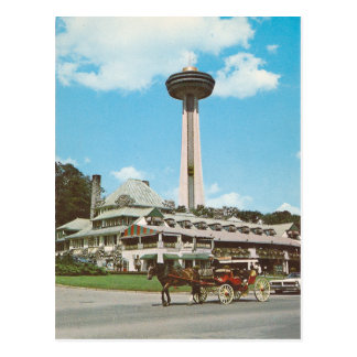 Vintage Niagara Falls Canadá Postal
