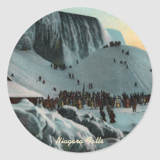 Vintage Niagara Falls Ice Stickers