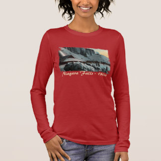 Vintage Niagara Falls Ice Women's Shirt