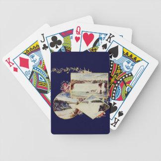Vintage Niagara Falls Paintings Bicycle Playing Cards