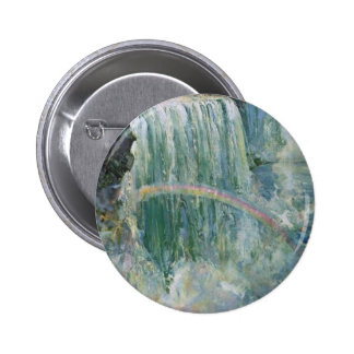 Vintage Niagara Falls Pin Redondo De 2 Pulgadas