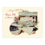 Vintage Niagara Falls Summer Postcard