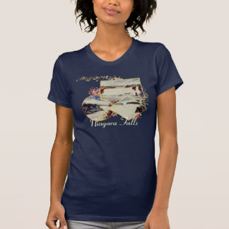 Vintage Niagara Falls Summer Womens Shirt