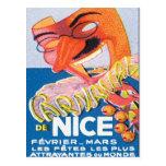 Vintage Nice France Mars Postcard