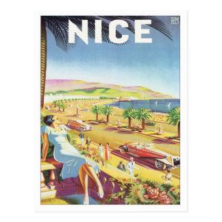 Vintage Nice France Postcard