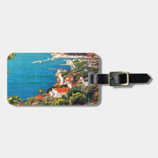 Vintage Nice Reine Cote D'Azur Tag For Luggage