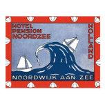 Vintage Noordwijk Aan Zee Holanda Postales