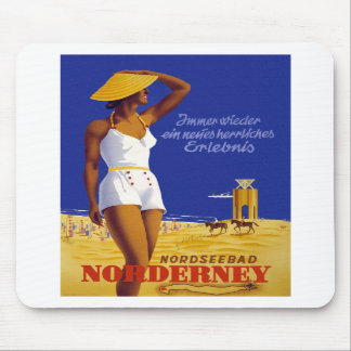 Vintage Norderney Germany Mouse Pads