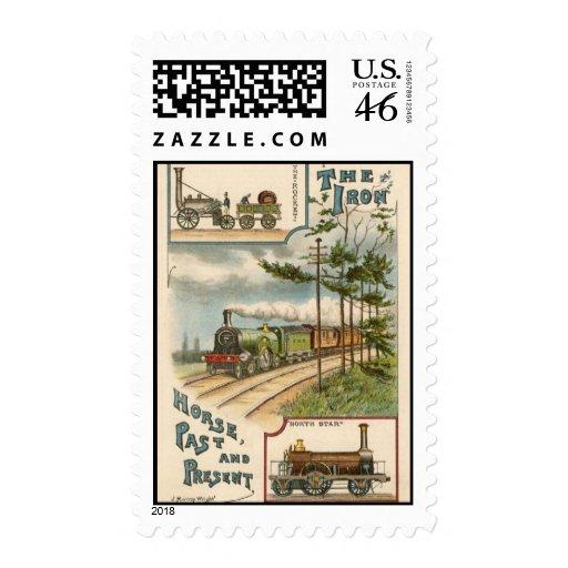 Vintage North Star Train Postage