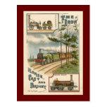 Vintage North Star Train Postcard