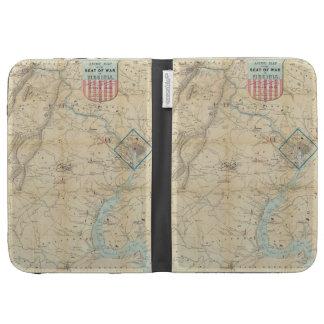 Vintage Northern Virginia Civil War Map (1862) Kindle 3G Case