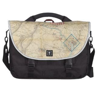 Vintage Northern Virginia Civil War Map (1862) Laptop Bag