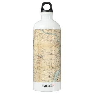Vintage Northern Virginia Civil War Map (1862) SIGG Traveler 1.0L Water Bottle