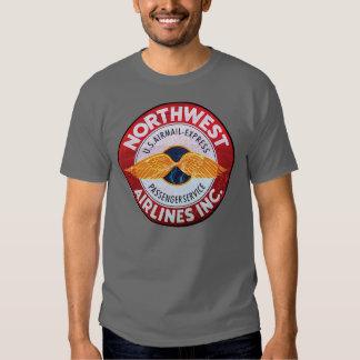 Vintage Northwest airlines sign Shirt