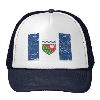 Vintage NORTHWEST TERRITORIES Flag Trucker Hat