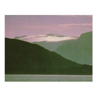 Vintage Norway, Lapland, Land of the midnight sun Postcard