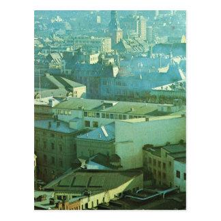 Vintage Norway,  Oslo, City Centre Postcard