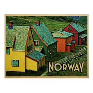 Vintage Norway Postcard