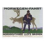 Vintage Norwegen Fahrt Postcards