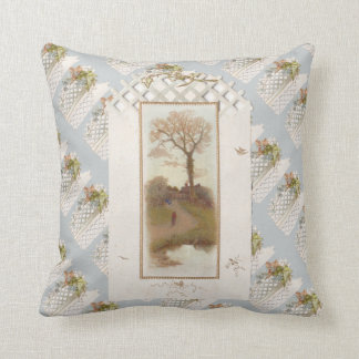Vintage Not Too Shabby Pillow