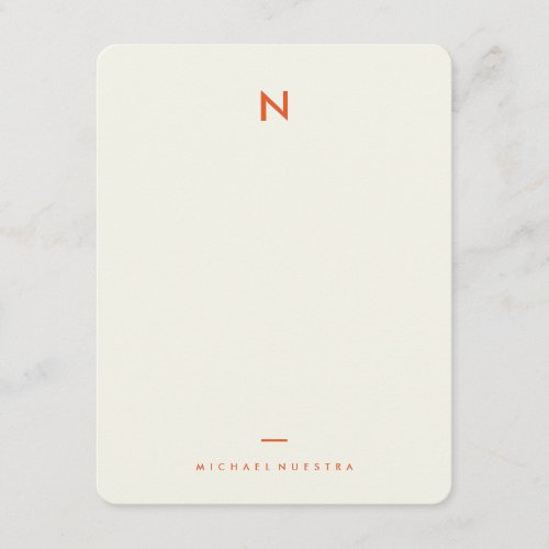 Vintage Notes Personal Stationery