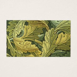 Vintage Nouveau Acanthus Business Card Template