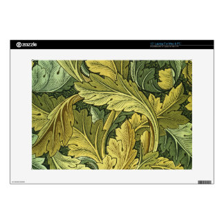 "Vintage Nouveau Botanical Laptop Notebook Decal 15"" Laptop Skin"