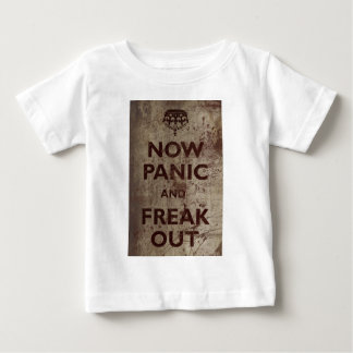 Vintage Now Panic & Freak Out Baby T-Shirt