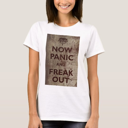 Vintage Now Panic & Freak Out T-Shirt