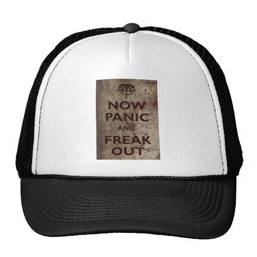 Vintage Now Panic & Freak Out Trucker Hat