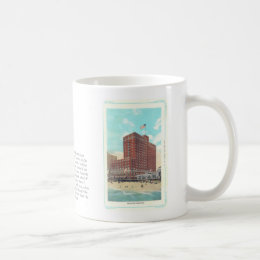 Vintage Nucky Johnson / Ritz Carlton Hotel Mug