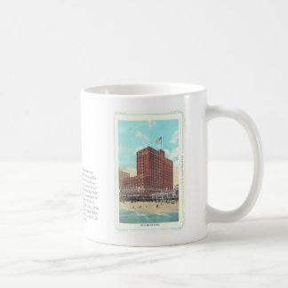 Vintage Nucky Johnson taza del hotel de Ritz Carlt